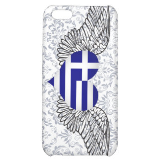 I Love Greece -wings iPhone 5C Covers