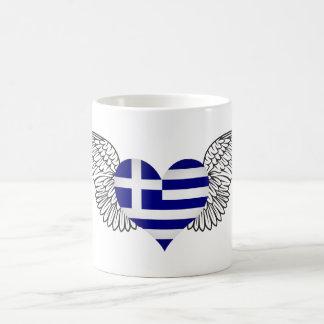 I Love Greece -wings Coffee Mugs
