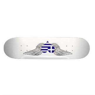 I Love Greece -wings Custom Skateboard