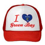 I Love Green Bay, Wisconsin Trucker Hat