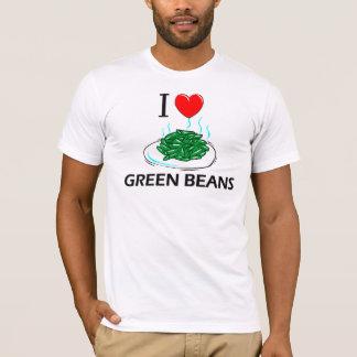 I Love Green Beans T-Shirt