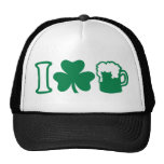 I love green beer mesh hats
