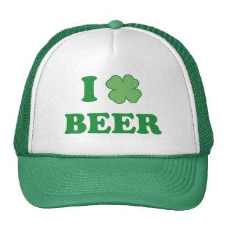 I Love Green Beer Trucker Hat