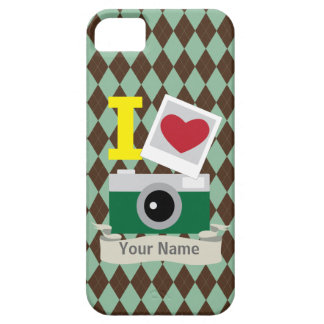 I love green camera iPhone 5 cover