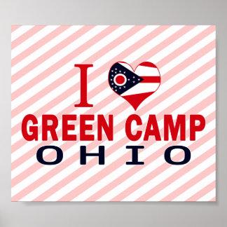 I love Green Camp, Ohio Print