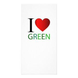 I love green card