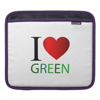 I love green iPad sleeve