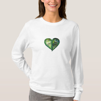 I Love Green Long Sleeve T-Shirt