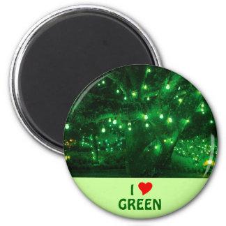 I Love Green Magnet