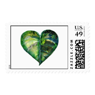 I Love Green Stamp