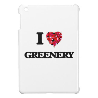 I Love Greenery Case For The iPad Mini