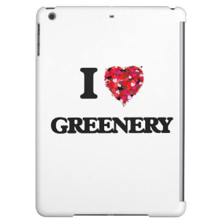I Love Greenery Cover For iPad Air