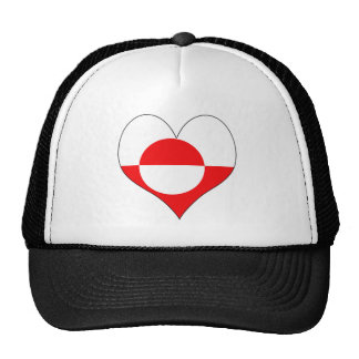 I Love Greenland Trucker Hat