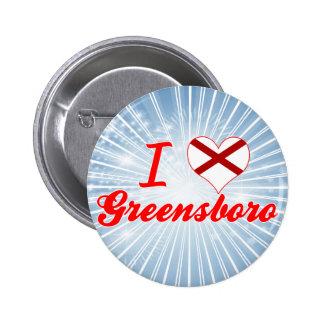 I Love Greensboro, Alabama Pins