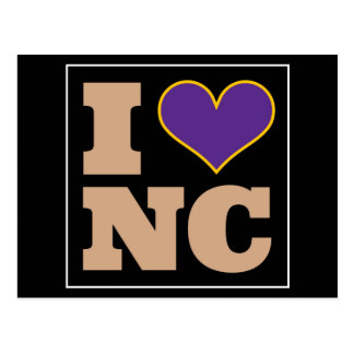 I Love Greenville North Carolina Postcard