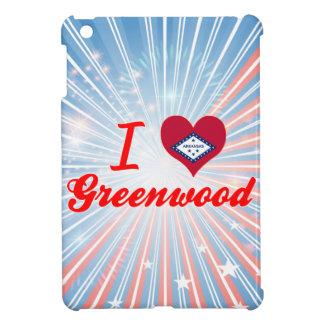 I Love Greenwood, Arkansas Case For The iPad Mini