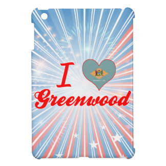 I Love Greenwood, Delaware iPad Mini Case