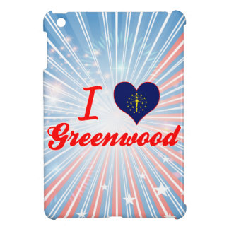 I Love Greenwood, Indiana iPad Mini Case