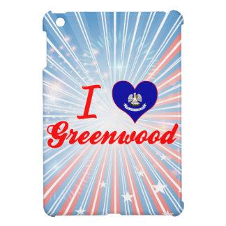 I Love Greenwood, Louisiana Case For The iPad Mini