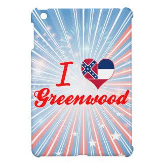 I Love Greenwood, Mississippi Case For The iPad Mini
