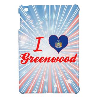 I Love Greenwood, New York iPad Mini Cases