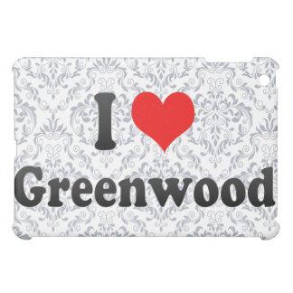 I Love Greenwood, United States Cover For The iPad Mini
