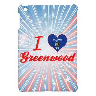 I Love Greenwood, Wisconsin iPad Mini Cover