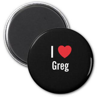 I love Greg Refrigerator Magnets