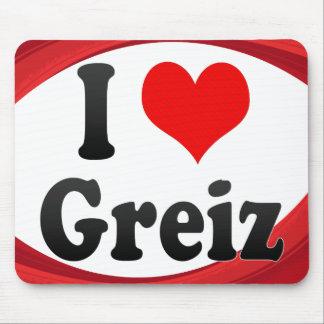 I Love Greiz Germany Ich Liebe Greiz Germany Mousepads
