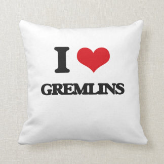 I love Gremlins Throw Pillows