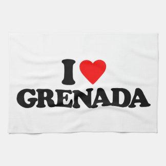 I LOVE GRENADA KITCHEN TOWEL