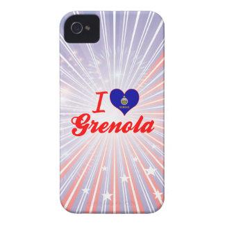 I Love Grenola, Kansas Case-Mate iPhone 4 Case