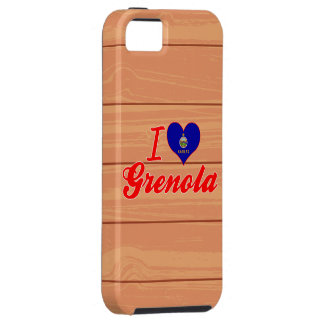 I Love Grenola, Kansas iPhone 5 Covers