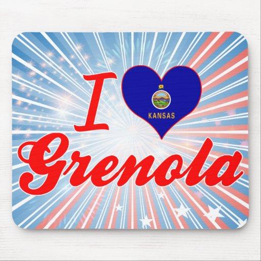 I Love Grenola, Kansas Mousepads