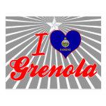 I Love Grenola, Kansas Post Card