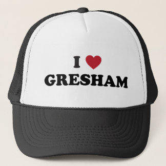 I Love Gresham Oregon Trucker Hat