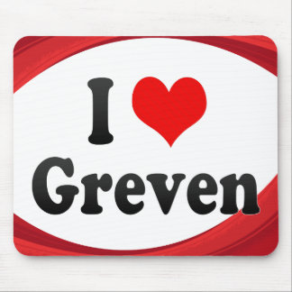 I Love Greven Germany Ich Liebe Greven Germany Mousepads