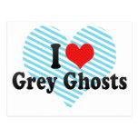 I Love Grey Ghosts Postcard