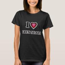 I Love Grey Seals T-Shirt