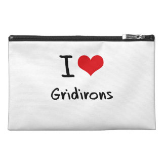I Love Gridirons Travel Accessories Bag