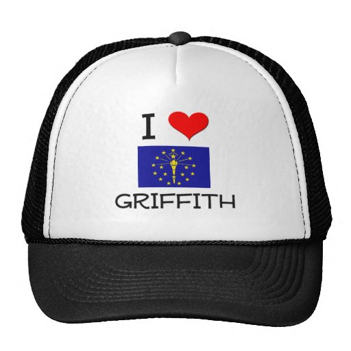 I Love GRIFFITH Indiana Mesh Hat
