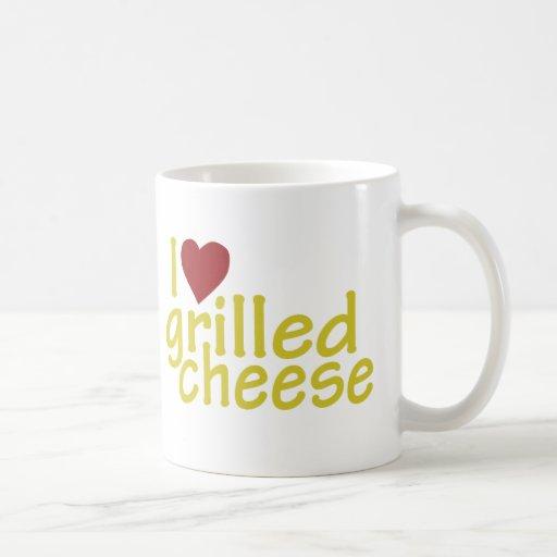 I Love Grilled Cheese Classic White Coffee Mug