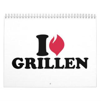 I love Grillen Calendar