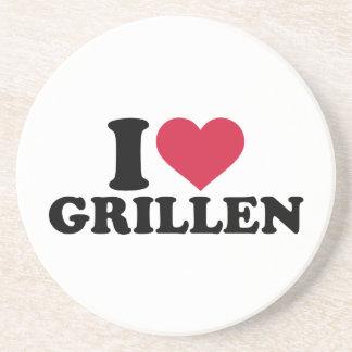 I love Grillen Coaster