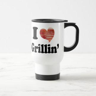I Love Grillin' Coffee Mug