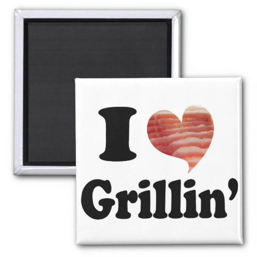 I Love Grillin' Magnets