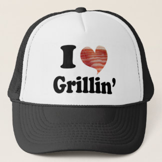 I Love Grillin' Trucker Hat