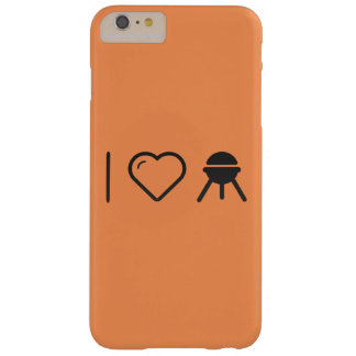 I Love Grilling Barely There iPhone 6 Plus Case