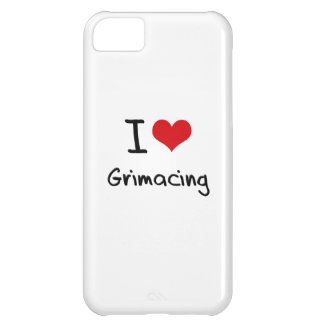 I Love Grimacing Case For iPhone 5C