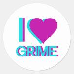 i love grime music sticker